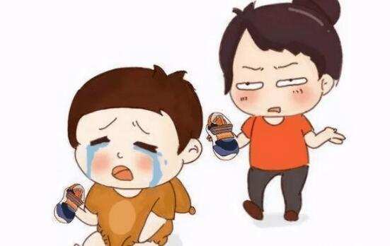 当孩子出现哭闹情绪,父母帮助孩子疏导情绪的正确选择